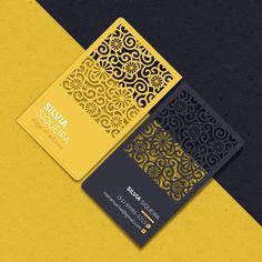 Business Cards Layout, Metal Business Cards, Luxury Business Cards, Business Card Design, Graveuse Laser, Laser Art, Chart Design, Web Design, Led Sign Board