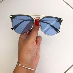 Oculos Mariposa Azul Transparente 2e68376533