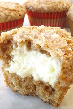 Cream Cheese Carrot Cake Muffins Recipe