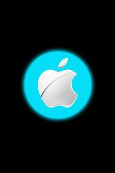 Wallpaper for iPhone Glowin Apple Power