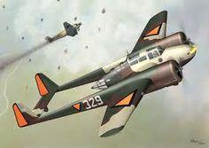 Fokker G-1 of Dutch Airforce 1940