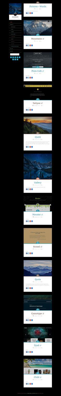 Wordpress, About Me Blog, Website, Design, Design Comics