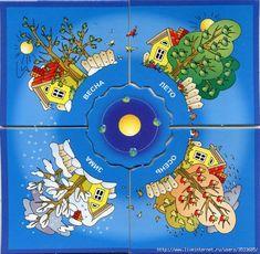 времена года.карточки для детей. Обсуждение на LiveInternet ...  5 www.liveinternet.ru