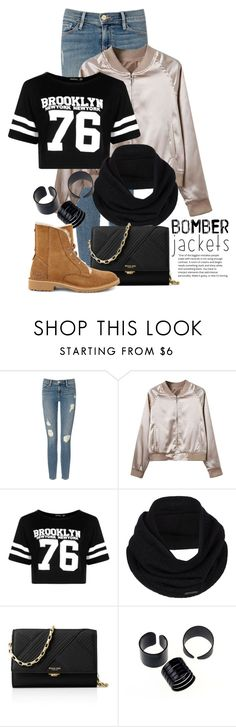 """""""Sep 13th (tfp) 2196"""" by boxthoughts ❤ liked on Polyvore featuring Frame Denim, Boohoo, prAna, Michael Kors, UGG and tfp"""