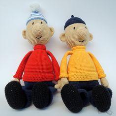 Pat a Mat – A je to! – návod – Háčkování hraček & návody placené