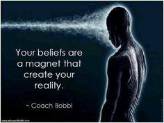 I have seen this come to fruition a million times over in my life.  It's become a truth for me.  - Your beliefs and thoughts are a magnet that create your reality.  Law of Attraction