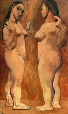 Pablo Picasso - two nudes