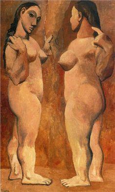 Dos desnudos.