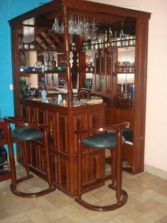 Bar en casa esquinero buscar con google cocinas y for Mueble bar moderno para casa