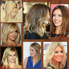 Shoulder Length hair styles. i am loving this length ........