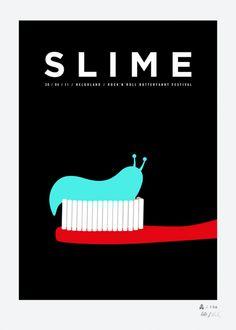 siebdrucke. cake + slime.
