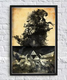 Legend of Zelda Matte Poster  by IceboxIllustrations on Etsy