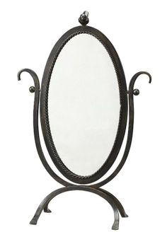 Standing Table Mirror Vintage Style With Bird Currently Available At  Eleventh Hour In Rochester NY