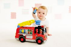 Lights and Sounds Fire Engine