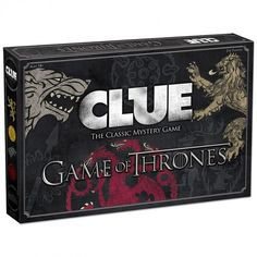 Game of Thrones Clue | HBO Shop