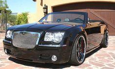 Custom Chrysler 300C roadster.