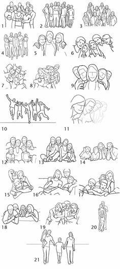 Poses En grupos