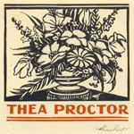 Bookplate by Adrian Feint for Thea Proctor. In the Bookplate Collection, Special Collections at Flinders University Library Ex Libris, Famous Artists, Printmaking, Illustration, University, Prints, Journaling, Plates, Collections