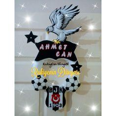 Keçe Beşiktaş kapi süsü