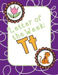 Letter of the Week: Tt