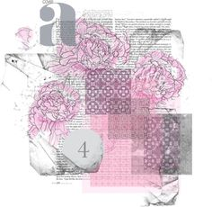 An art collage from March 2013 Collage Art, Collages, Rose, Polyvore, Beautiful, Collage, Pink, Collagen, Roses