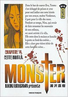 Urasawa, Naoki. Monster, tome 14 : Cette nuit-là, Kana, 2004 Cote BD