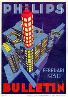Philips newsletter from 1930 | #history #proud #vintage