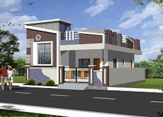Image result for elevations of independent houses