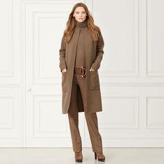 Mantel Sandra aus Kaschmir-Wolle - Jacken & Mäntel Herbst 2015 Bekleidung - Ralph Lauren Deutschland