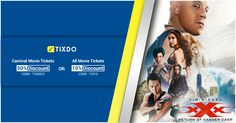 A bunch of badasses that you are already in love with, are coming to make you wanna be one of them in xXx: Return of Xander Cage.  Book your tix now only via tixdo.com and avail amazing offers. #Deepika Padukone // #Vin Diesel #Nina Dobrev #Hollywood #Ticketoffer #Movies Return Of Xander Cage, Movie Tickets, All Movies, Vin Diesel, Nina Dobrev, Deepika Padukone, Carnival, Hollywood, Book