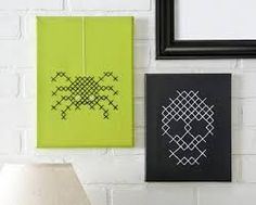 Image result for cross stitch pac man