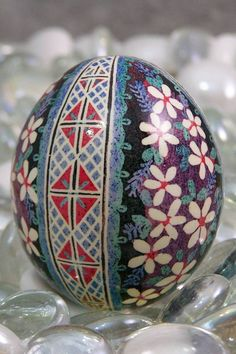 Pysanky Egg...such a cool art form...