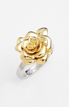 MARC BY MARC JACOBS 'Jerrie Rose' Flower Ring available at #Nordstrom