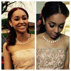 Prom makeup by Kwanza