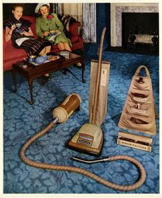 """"""" Love your new Eureka Cleaning System, Doris. Eureka Vacuum, Sewing Room Decor, Mid Century Modern Kitchen, Vintage Appliances, Vacuum Cleaners, Suckers, The Good Old Days, Dory, Clean House"""