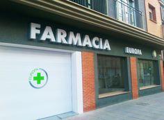 Rótulos corpóreos Farmacia  www.logovision.es