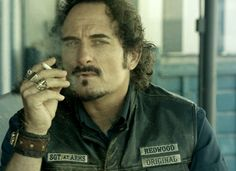 Tig Trager // Sons Of Anarchy // Kim Coates Sons Of Anarchy Characters, Sons Of Anachy, Fangirl Book, Kim Coates, Sons Of Anarchy Motorcycles, Sons Of Anarchy Samcro, Tommy Flanagan, Great Tv Shows, Charlie Hunnam