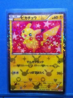 Pokemon card shining collection Pikachu 1st Edition Holo Freeshipping by Airmail