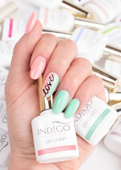 by Paulina Walaszczyk - Follow us on Pinterest. Find more inspiration at www.indigo-nails.com #nailart #nails #indigo #pink #ombre