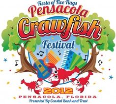 Pensacola Crawfish Festival The OFFICIAL Pensacola Crawfish Festival May 4 - 6, 2012 in downtown Pensacola. Friday, May 4 Noon-11p.m.; Saturday, May 5 10 a.m.-11p.m.; Sunday, May 6 11a.m.-5 p.m. If you love crawfish, this is where you want to be! One of the largest crawfish boils in the state of