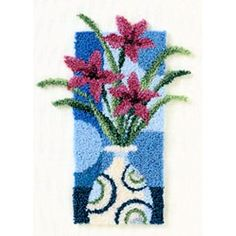 punchneedle pins - Google Search