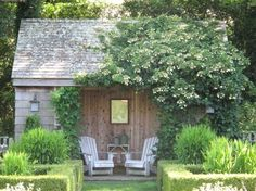 Barefoot Contessa's garden by Edwina von Gal. Easthampton, NY