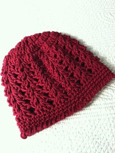 Crochet Baby Hat Cranberry Baby Hat Newborn by LakeviewCottageKids, $18.00