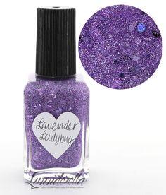 Lynnderella Limited Edition Nail Polish—Lavender Ladybug #Lynnderella