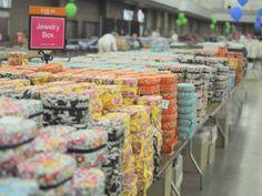 Vera Bradley Outlet Sale - held each April in Fort Wayne, Indiana