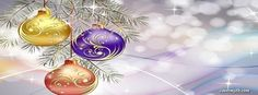 Pastel Colored Christmas Facebook Cover