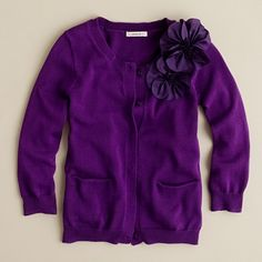 This would be so cute for the holidays with a little wool, a-line skirt. My daughter would be all over this!