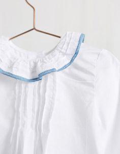 8 mejores imágenes de Camisa batista cuello | cuello
