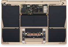 """12 inch macbook internal view • """"The Apple Watch may have dominated Apple's Spring Forward event earlier this week, but an unexpected new MacBook could herald the future of mobile computing. It will be available April 10, both online and at Apple retail stores and select authorized resellers."""" • by Richard Adhikari"""