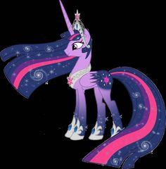The alicorn princess Twilight Sparkle 2nd version,
